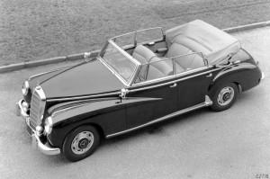 Mercedes-Benz Typ 300 b Cabriolet D, 1954-1955.