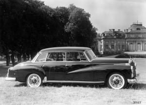 Mercedes-Benz Typ 300 d, 160 PS, Limousine, Bauzeit: 1957 bis 1962.