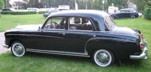 Mercedes 219 1957