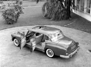 Mercedes-Benz Typ 300 d Limousine mit Schiebedach, 1957-62