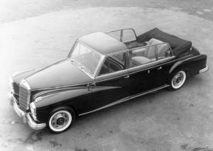 Mercedes-Benz Pullman-Landaulet Typ 300 d, SonderausfÅhrung fÅr den Vatikan, 1960